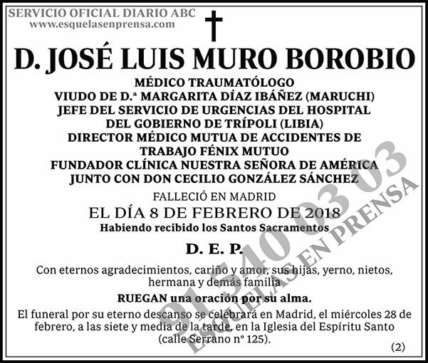 José Muro Borobio